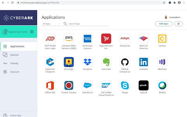 Idaptive Browser Extension