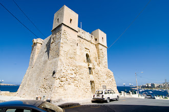 Photo: Old guard/observation towers where along the coastline, this one is in Bugibba