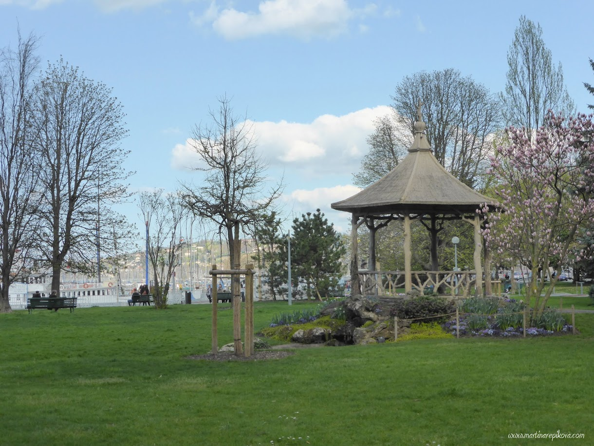 Jardin d'Anglais, Geneva, Switzerland