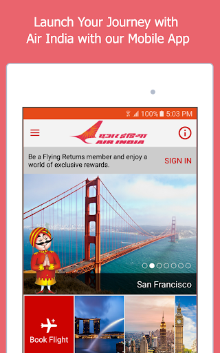 Air India screenshot 6