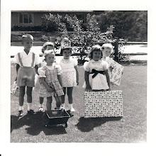 Photo: Margies 4th Birtday 1953