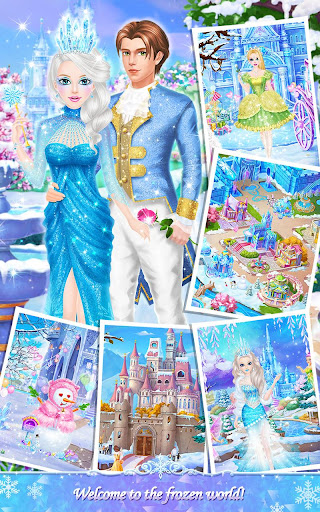 Princess Salon: Frozen Party captures d'u00e9cran 2