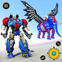 Flying Elephant Robot Transform: Flying Robot War icon