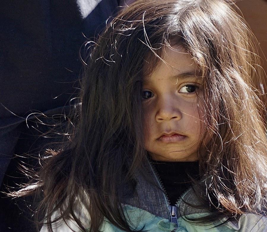 DACA Daughter by Barbara Brock - Babies & Children Children Candids ( beauty in youth, sad child, loneliness, sadness, hispanic girl, pretty girl, youth, childhood, hispanic child, beautiful child )