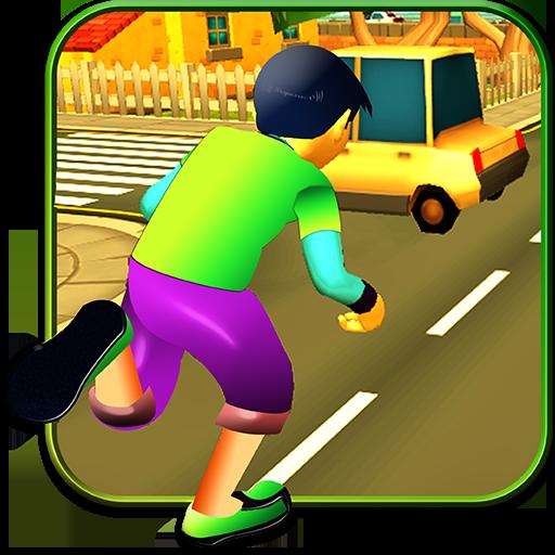 Crossy Run : Running Game 3D for PC