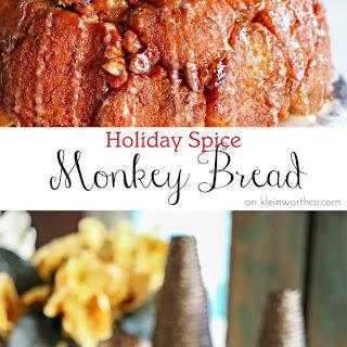 Holiday Spice Monkey Bread