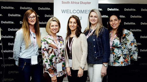 From left: Dané Louw (Deloitte Analytics), Carolynn Chalmers (Director of Candor Governance), Dr Tracy Cohen (Director of business development at CDH), Chrystal Austin (Chairperson of KZN Women In Business), Melanie Gard (Director & Head) Chatterbox
