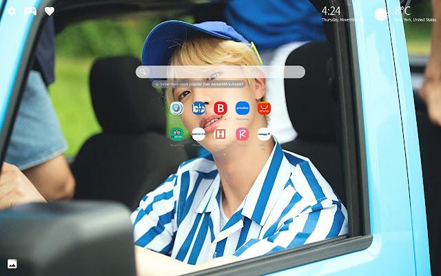 Jin BTS Wallpapers HD New Tab