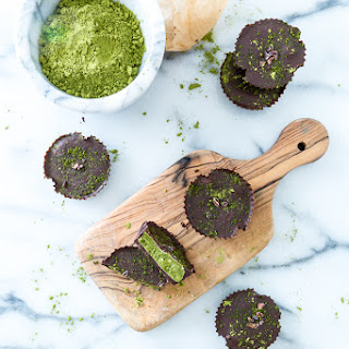 Chocolate Matcha Butter Cups