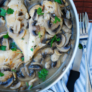 30 Minute Chicken & Mushroom Marsala (GF, DF, Egg, Soy, Fish, Shellfish, Peanut, Tree nut Free, Top 8 Free)