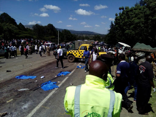 Image result for police chase accidents kenya