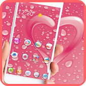 Water Drop PIP Pink Love theme