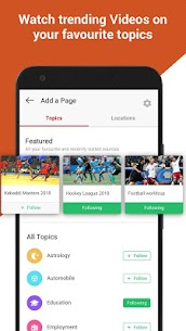 Dailyhunt (Newshunt) Latest News, Viral Videos 10.2.7 Cracked Apk (Ad Free) Latest Version Download 4