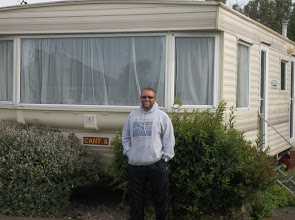 Photo: The trailer that Josh, Cathi, Austin and myself stayed in.