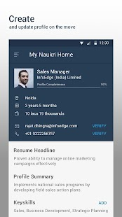 Download Naukri.com Job Search For PC Windows and Mac apk screenshot 3