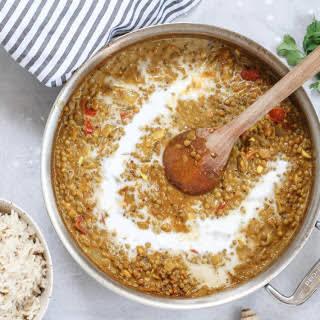 Coconut Turmeric Dal [Vegan, Grain-Free].