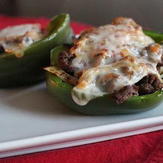 Cheesesteak Stuffed Peppers