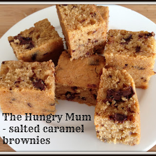 Donna Hay salted caramel brownies
