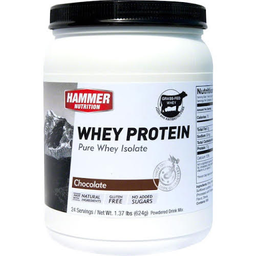 Hammer Nutrition Whey Protein: Chocolate 24 Servings