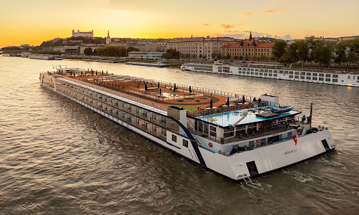 Twice as wide as traditional river cruise ships, AmaMagna offers more space, more dining choices and more activities on board.