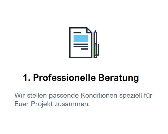 professionelle Beratung