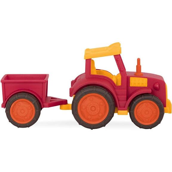Contenido de Wonder Wheels Tractor con Remolque