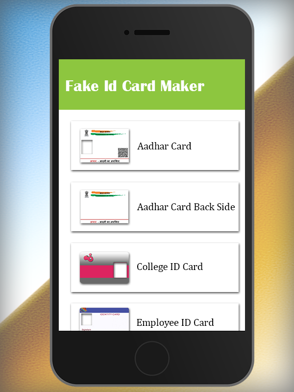 Fake ID Card Maker App 2017 (New) - Android Apps on Google Play
