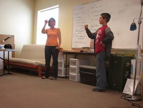 Photo: American Sign Language lessons courtesy of Tegan