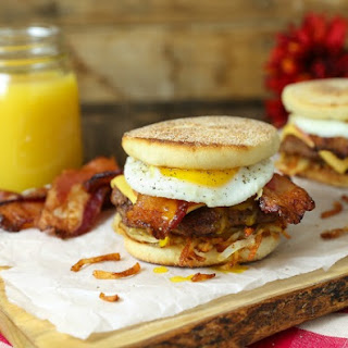 Royal Bacon Breakfast Burger