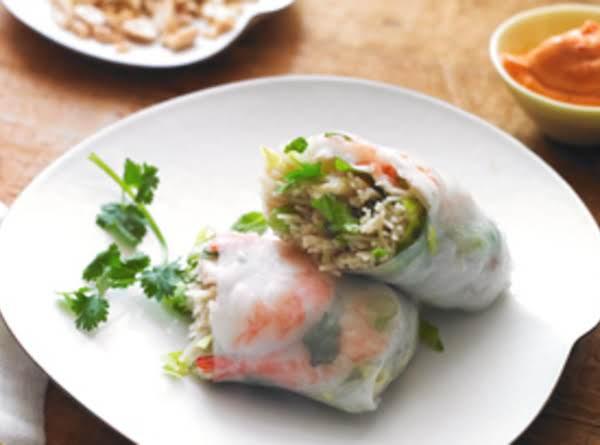 Shrimp The Shrimp Spring Rolls Recipe