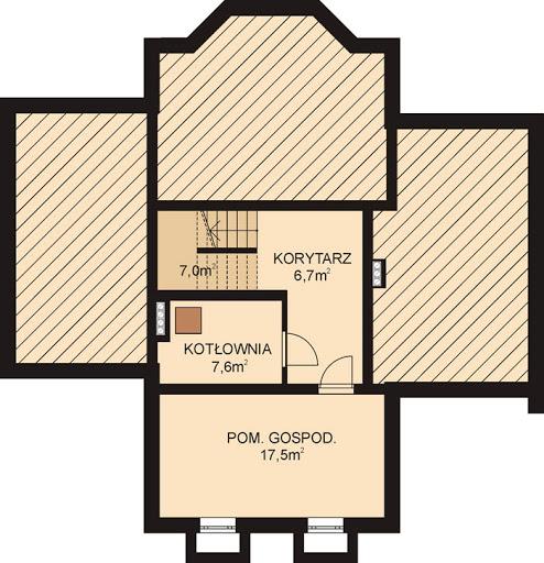 APS 062 - Rzut piwnicy