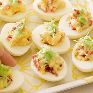 BLT Deviled Eggs
