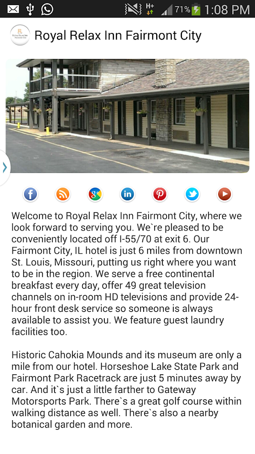 Royal Relax Inn Fairmont City- screenshot