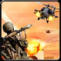 Helicopter terrorist Attack icon