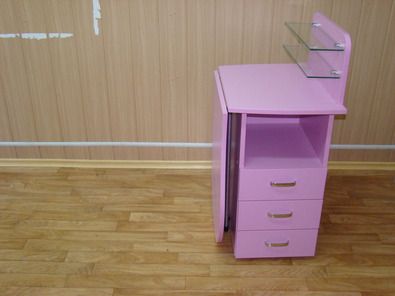 Складной стол-тумба