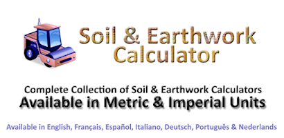 Soil and earthwork calculator android app on appbrain for Soil calculator