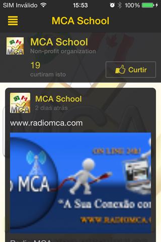 MCA Scholl App