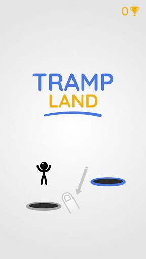 Tramp Land - Stickman Jump Arcade 1.0.1 screenshots 1