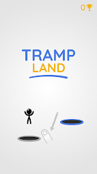 Tramp Land - Stickman Jump Arcade APK screenshot thumbnail 1