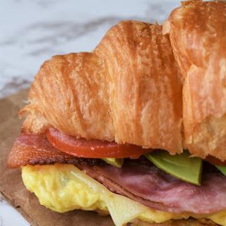 Loaded Breakfast Sandwich.