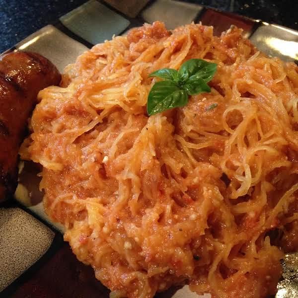 Garlic Infused Spaghetti Squash Recipe
