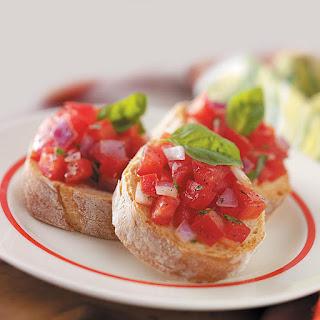 Garden-Fresh Bruschetta Recipe