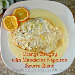Orange Roughy With Mandarine Napoleon Beurre Blanc