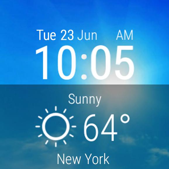 Weather Live– снимак екрана