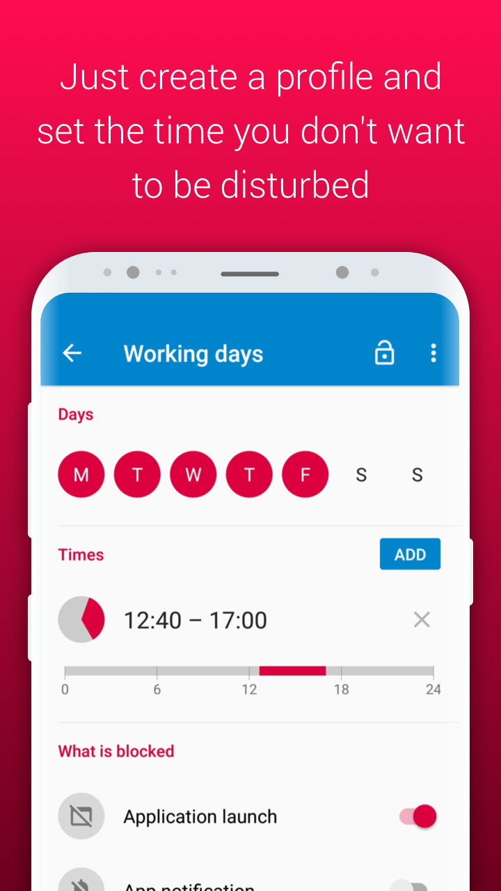 AppBlock - Stay Focused Screenshot 1