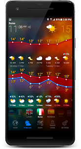 3D EARTH PRO – local weather forecast & rain radar 4
