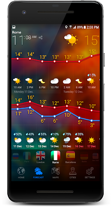 3D EARTH PRO - local weather forecast & rain radarのおすすめ画像4
