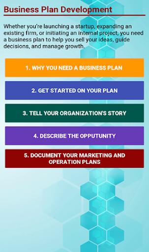 Business Plan Development screenshot 1