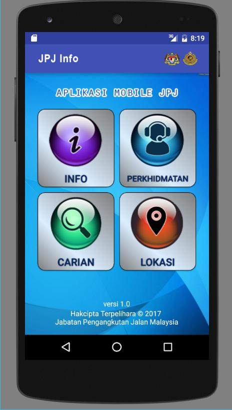 InfoJPJ- screenshot