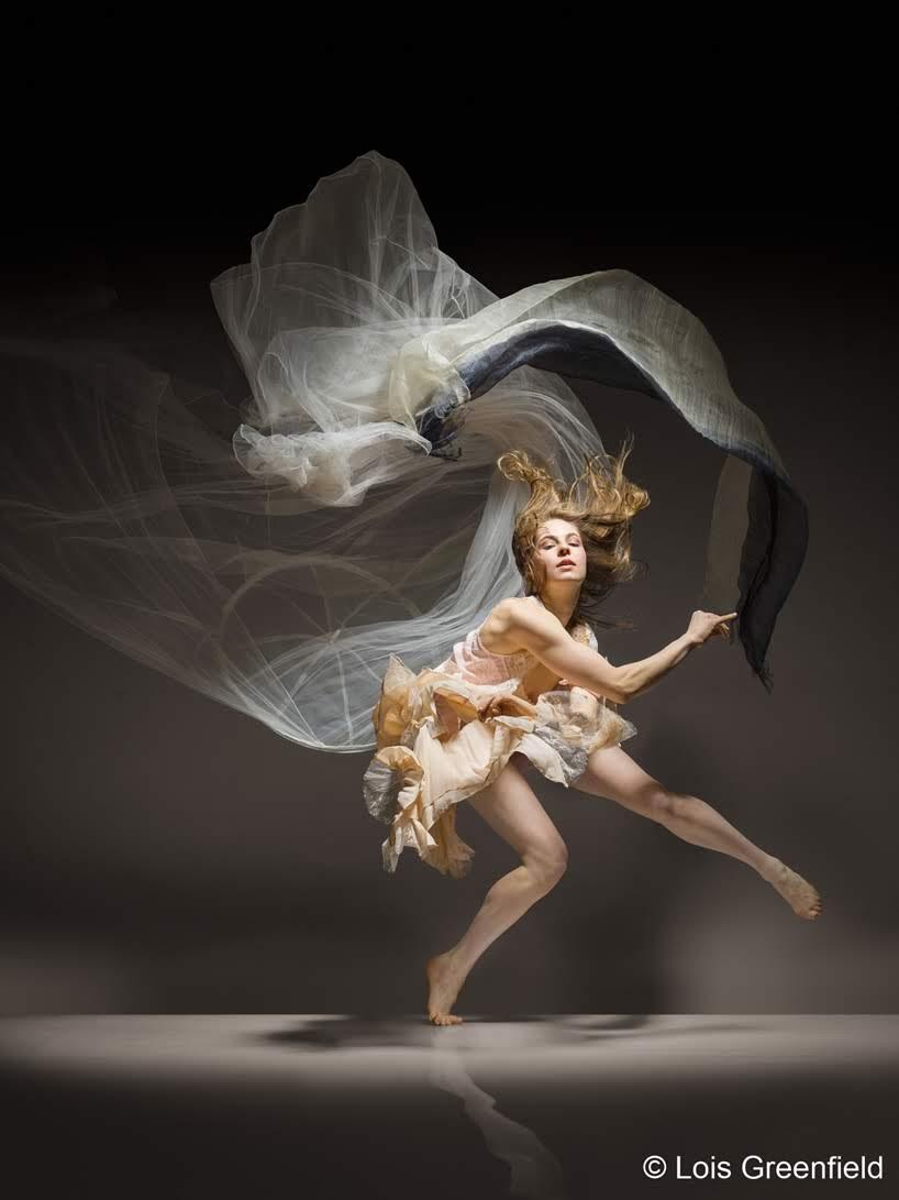 Fotografías de una danza en movimiento por Lois Greenfield